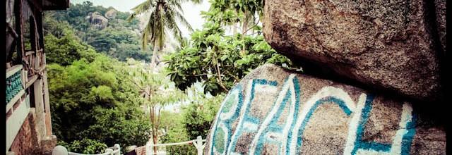 sous les cocos à Koh Tao