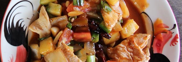 sweet and sour & poulet noix de cajou