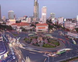 Ben-Thanh-Roundabout-Ho-Chi-Minh-City